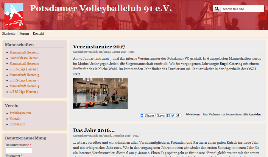 Homepage v.4